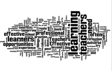 Wordle: learners, teacher, learning, opportunity